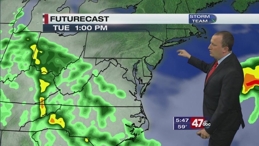 Evening Forecast Video 5.18.20