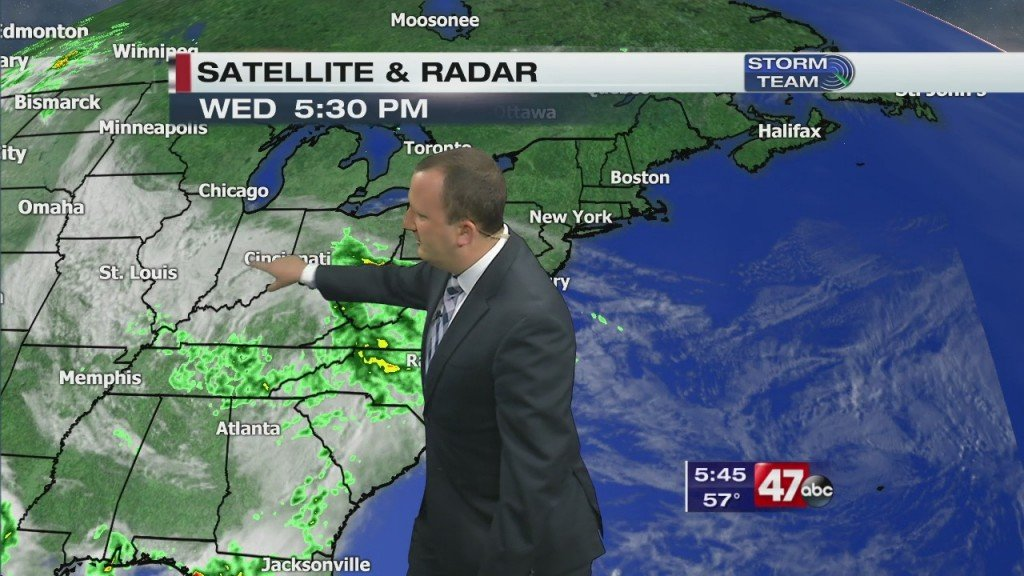 Evening Forecast Video 5.20.20