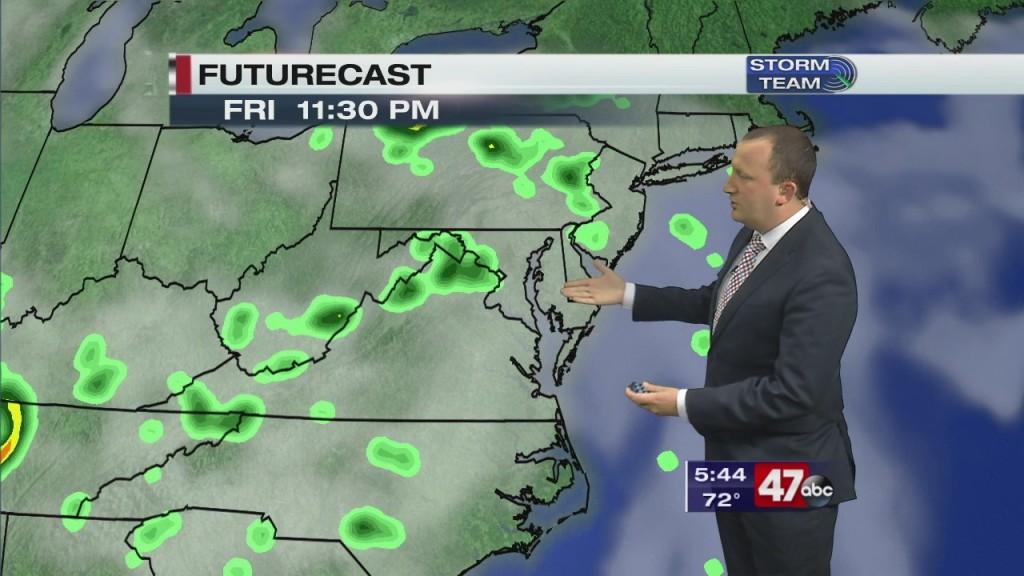 Evening Forecast Video 5.22.20