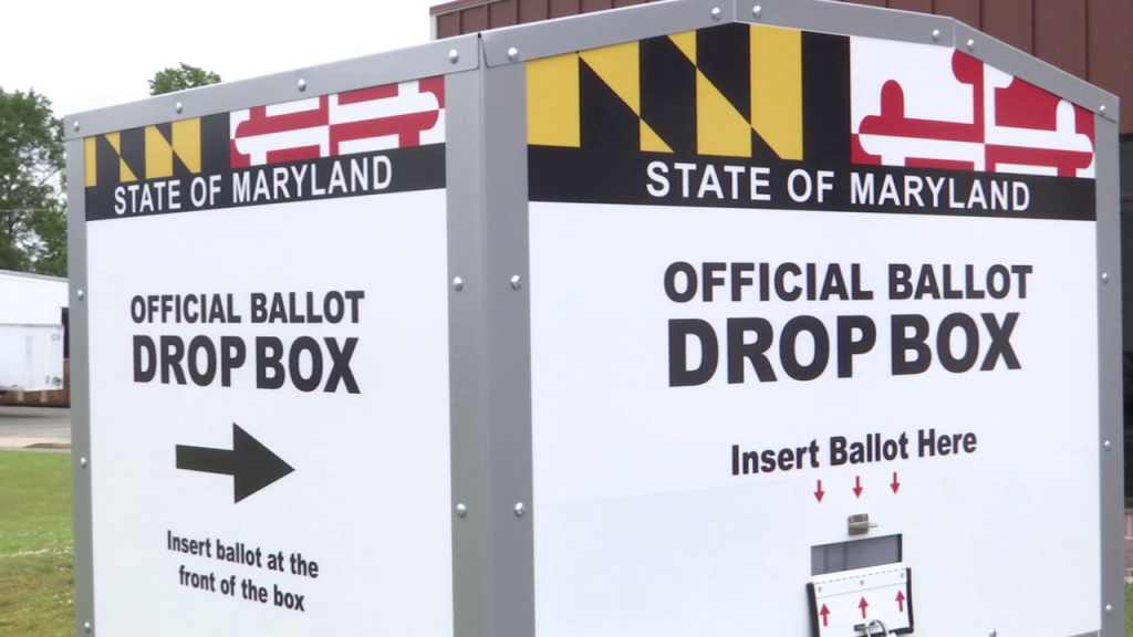 Maryland Ballot Drop Box