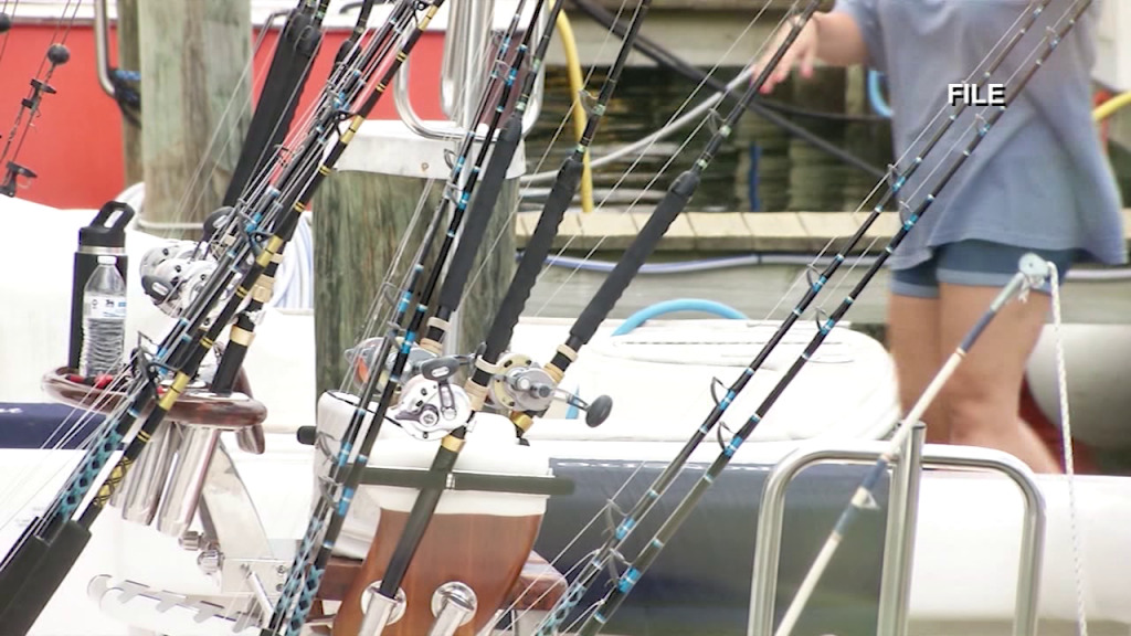 Fishing Poles White Marlin Open