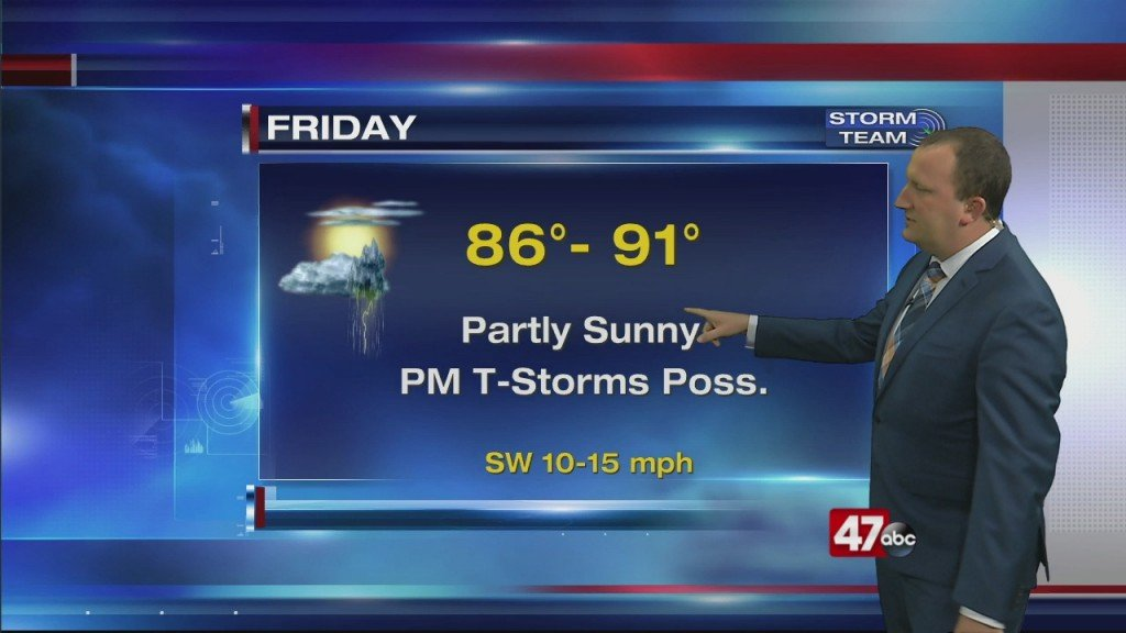 Evening Forecast Video 6.4.20