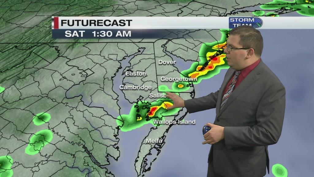 Overnight Forecast Video 6.5.20