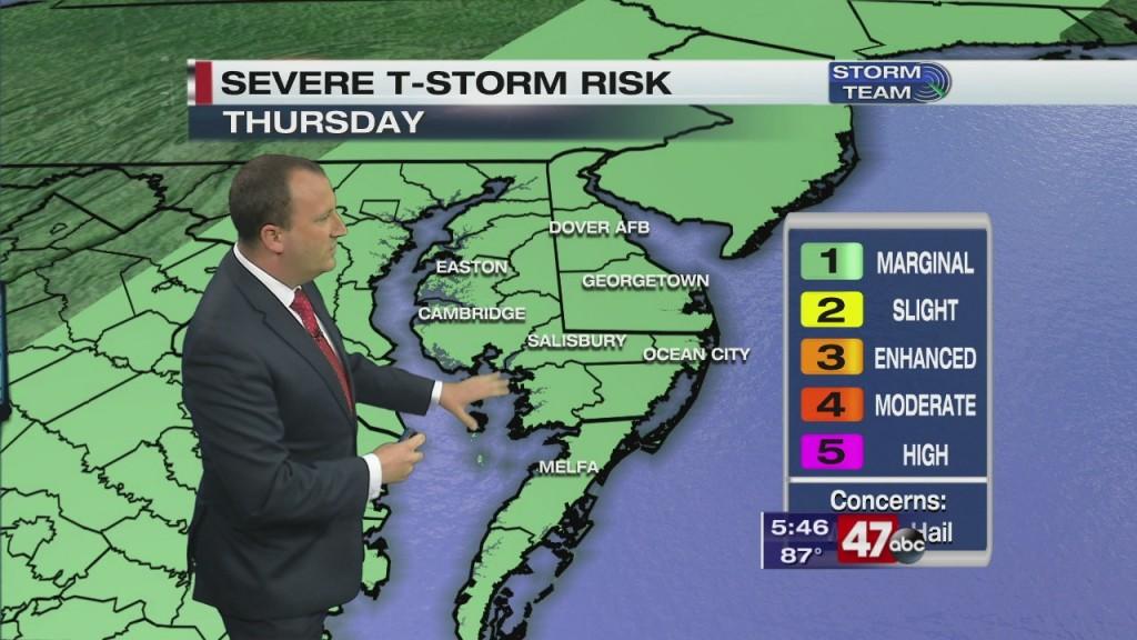 Evening Forecast Video 6.10.20