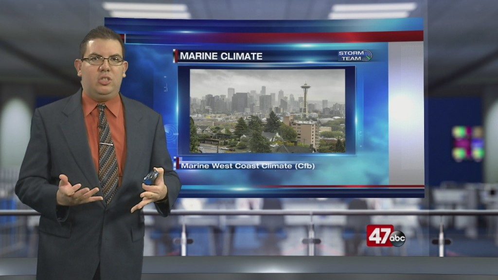 Weather Tidbits: Marine West Coast Climate