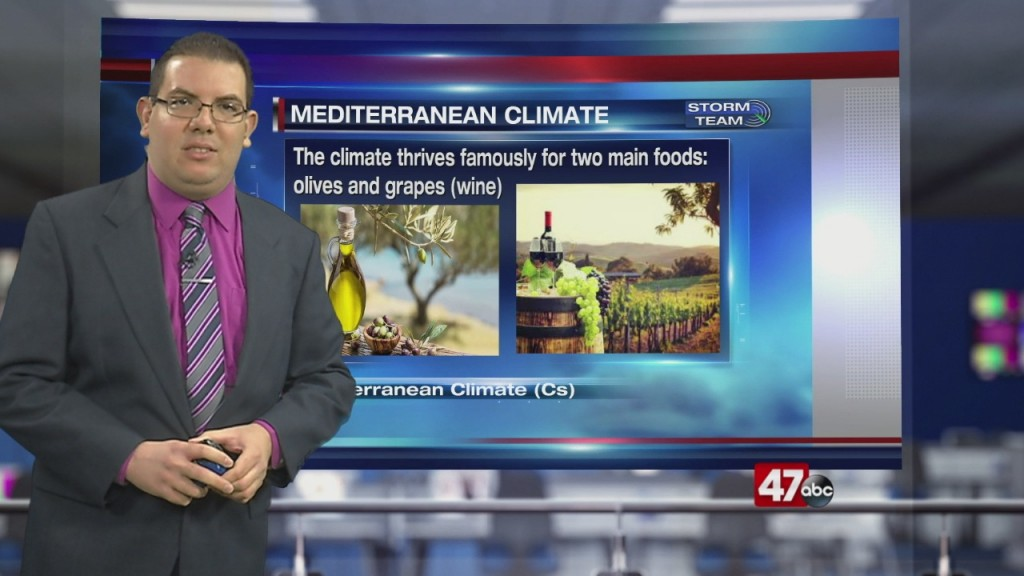 Weather Tidbits: Mediterranean Climate