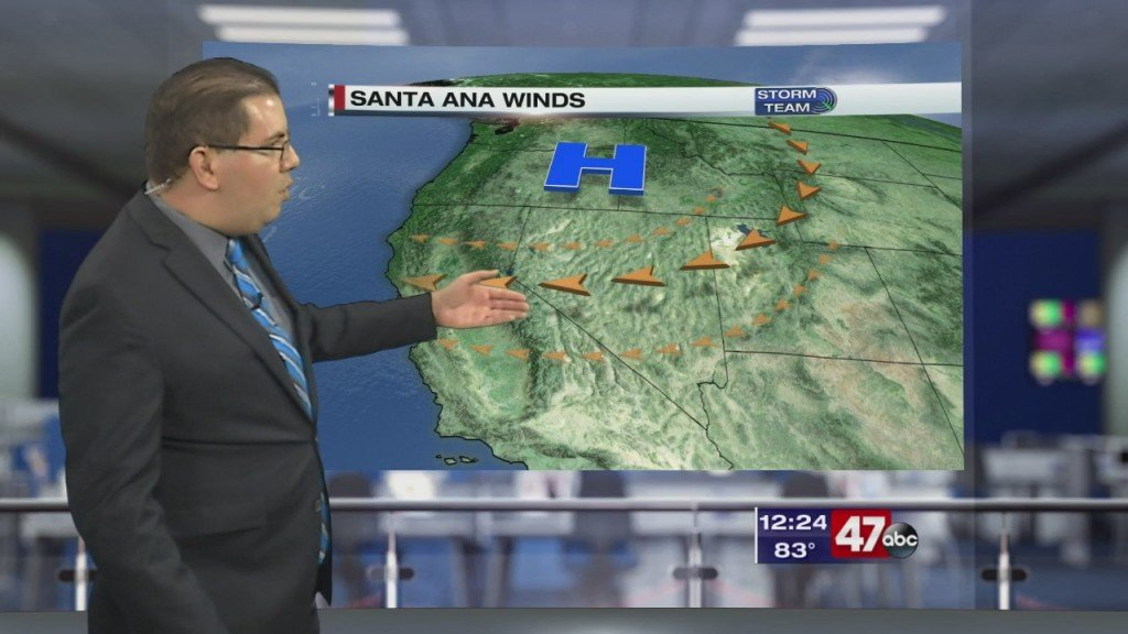 Weather Tidbits: Santa Ana Winds