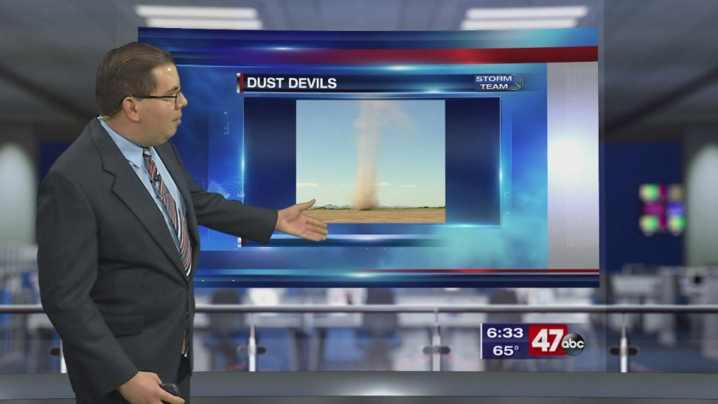 Weather Tidbits: Dust Devil