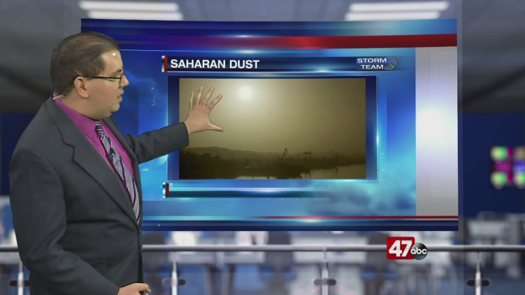 Weather Tidbits: Saharan Dust