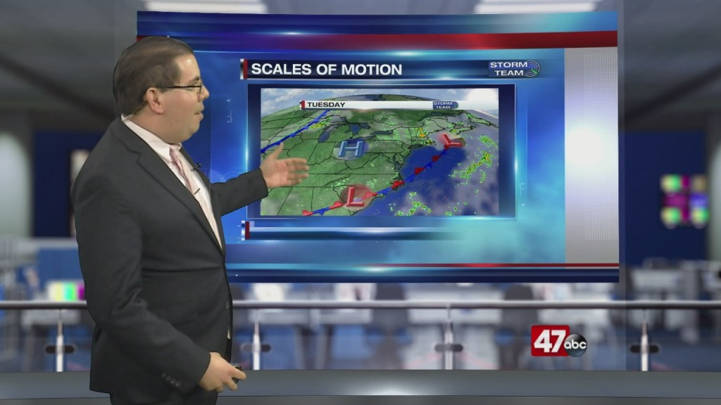 Weather Tidbits: Scales Of Motion