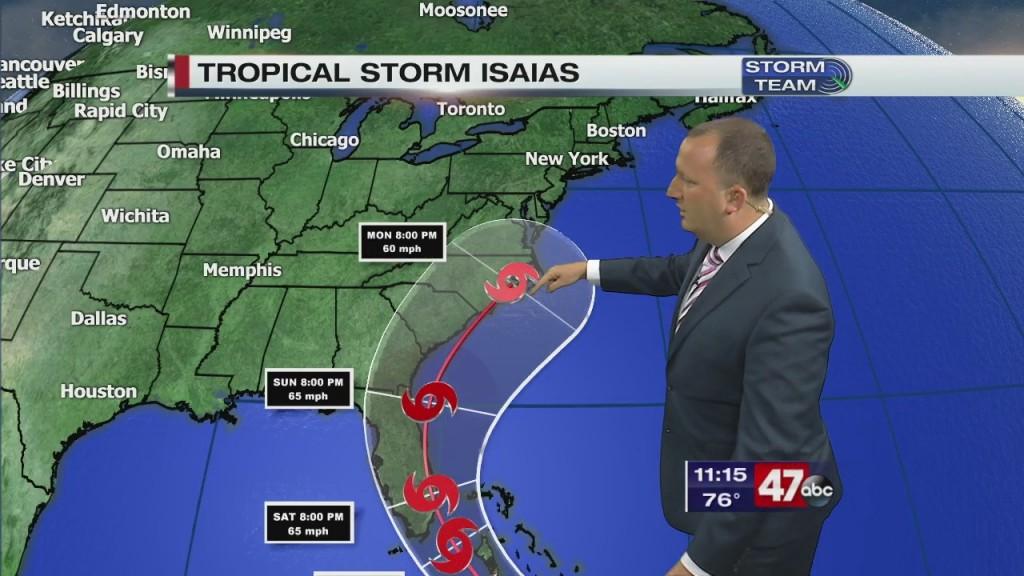 Overnight Forecast Video 7.29.20