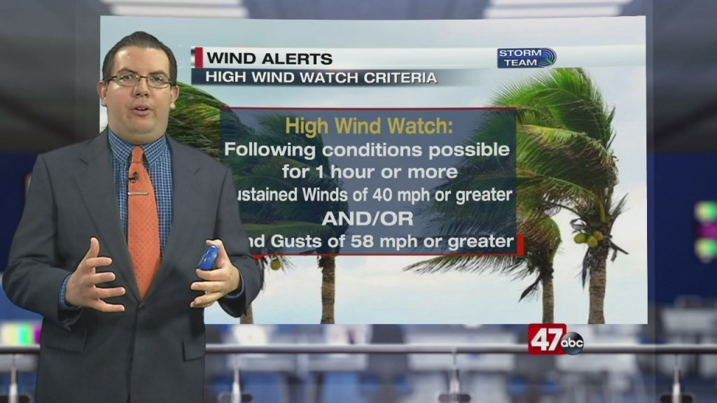 Weather Tidbits: Wind Alerts