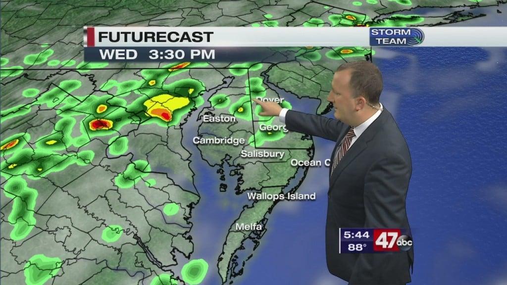 Evening Forecast Video 8.11.20