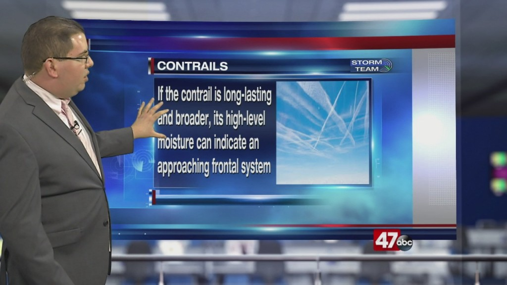 Weather Tidbits: Contrail