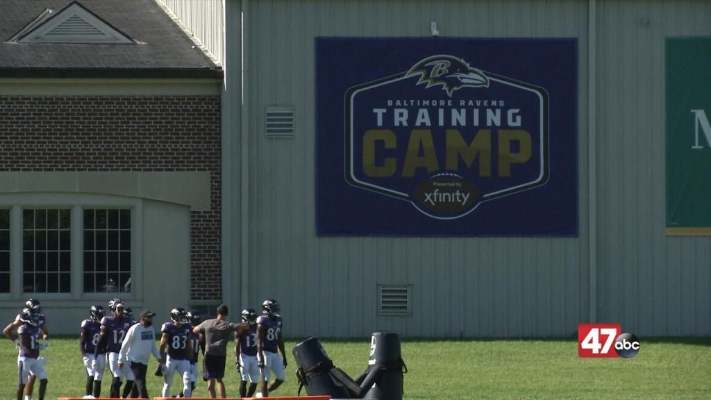 Baltimore Ravens 2020 Training Camp