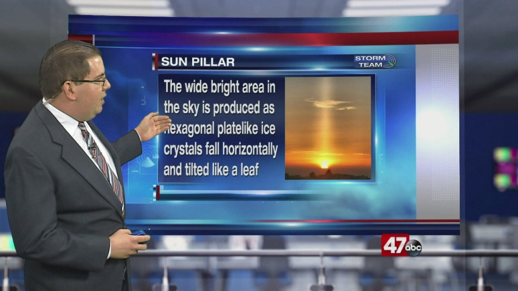 Weather Tidbits: Sun Pillar