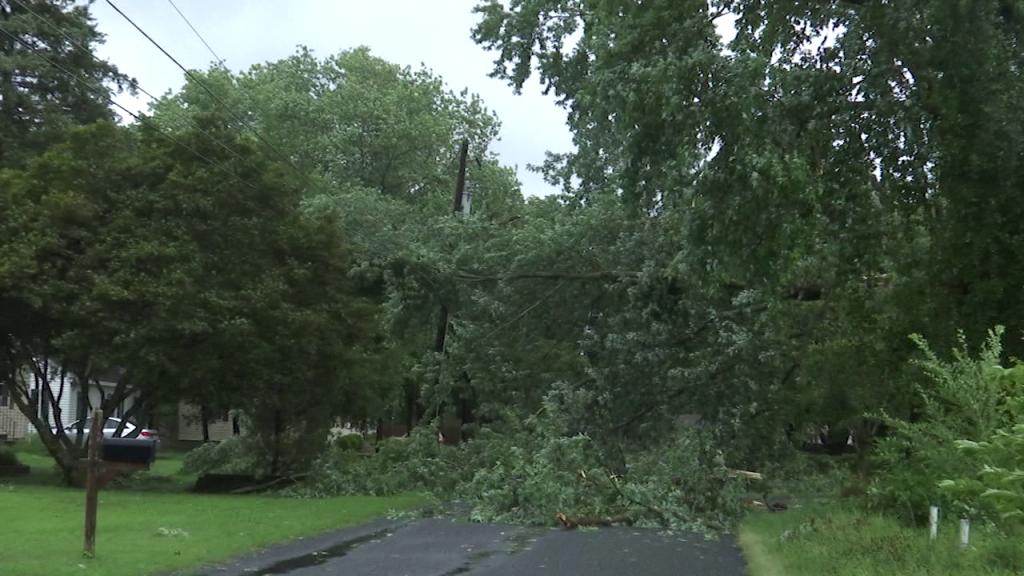 Salisbury Isaias Storm Damage