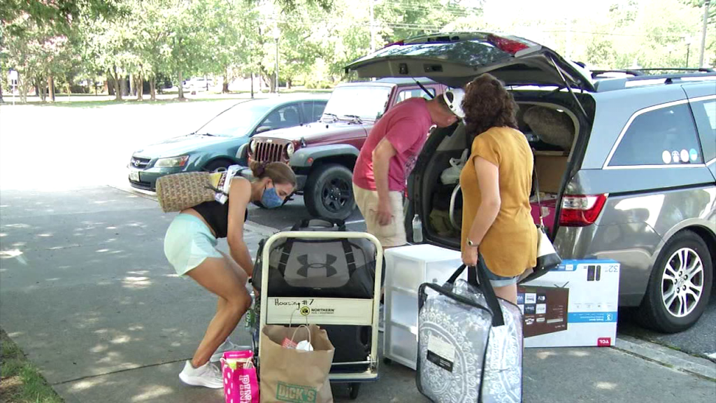 Salisbury University Move In