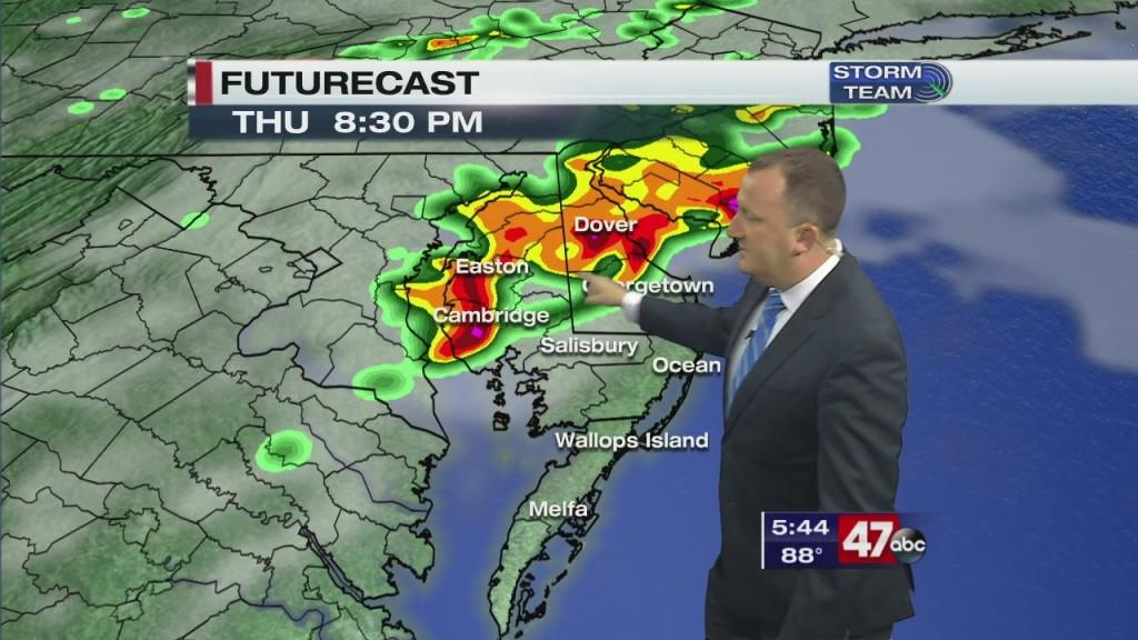 Evening Forecast Video 9.2.20