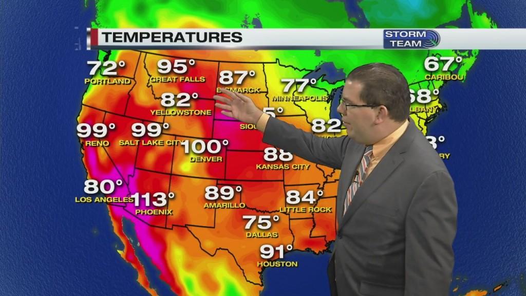 Evening Forecast Video 9.5.20