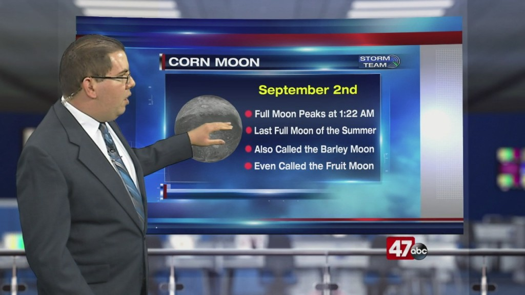 Weather Tidbits: Corn Moon