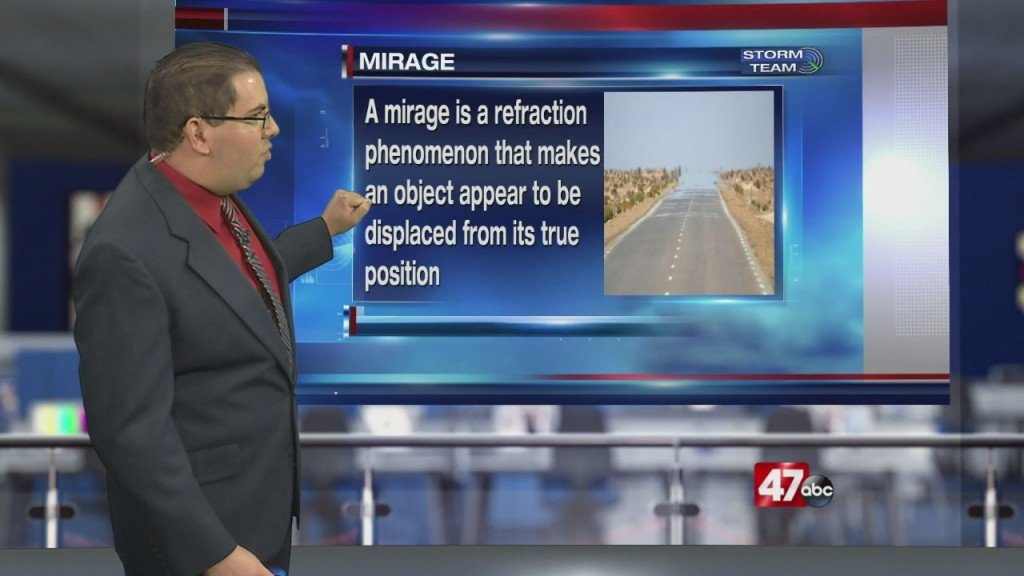 Weather Tidbits: Inferior Mirage