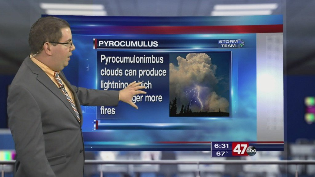 Weather Tidbits: Pyrocumulus