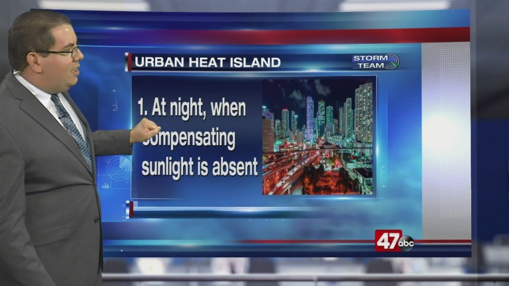 Weather Tidbits: Urban Heat Island