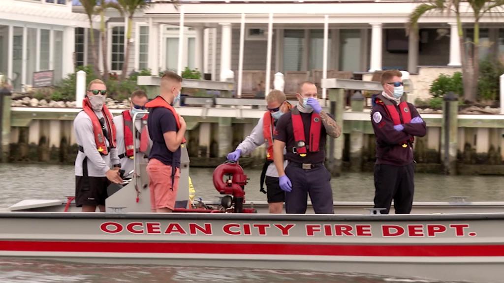 Ocean City Fire Boat