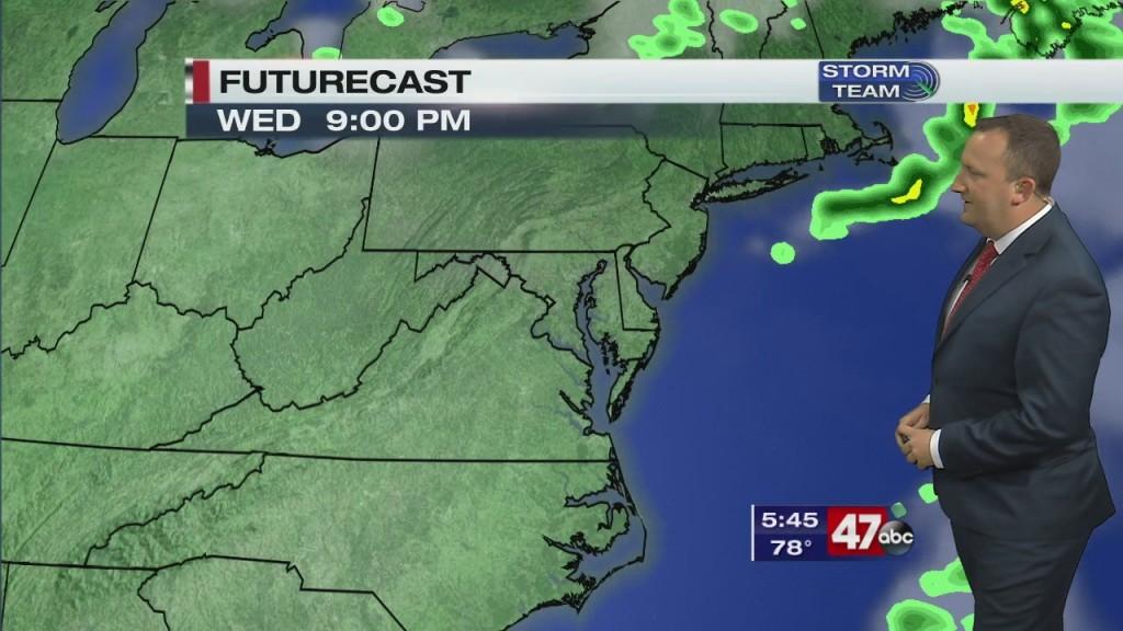 Evening Forecast Video 10.7.20
