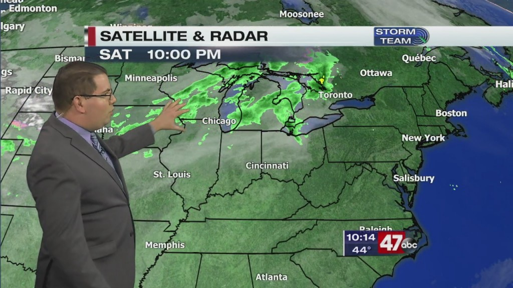 Evening Forecast Video 10.17.20