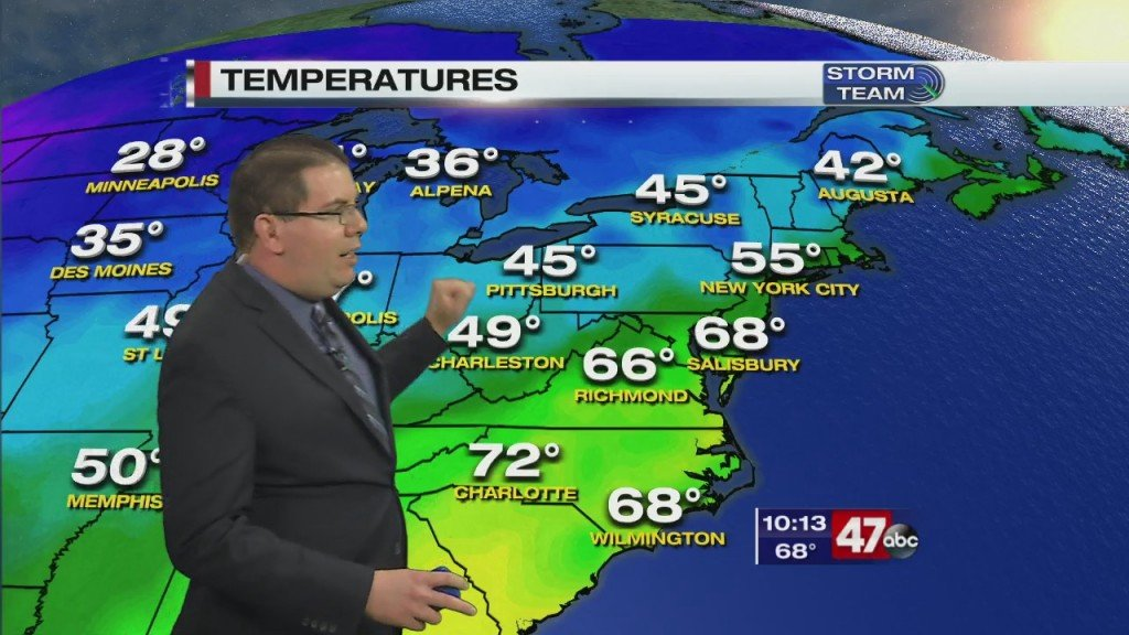 Evening Forecast Video 10.24.20