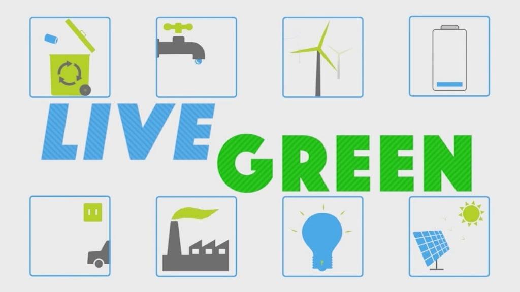 Live Green: Go Green Oc