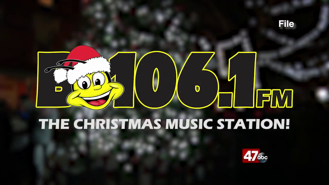 B106.1 FM Switching to Christmas music   47abc