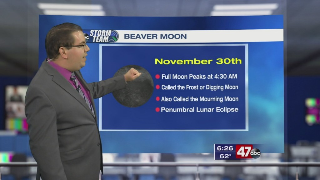 Weather Tidbits: Beaver Moon