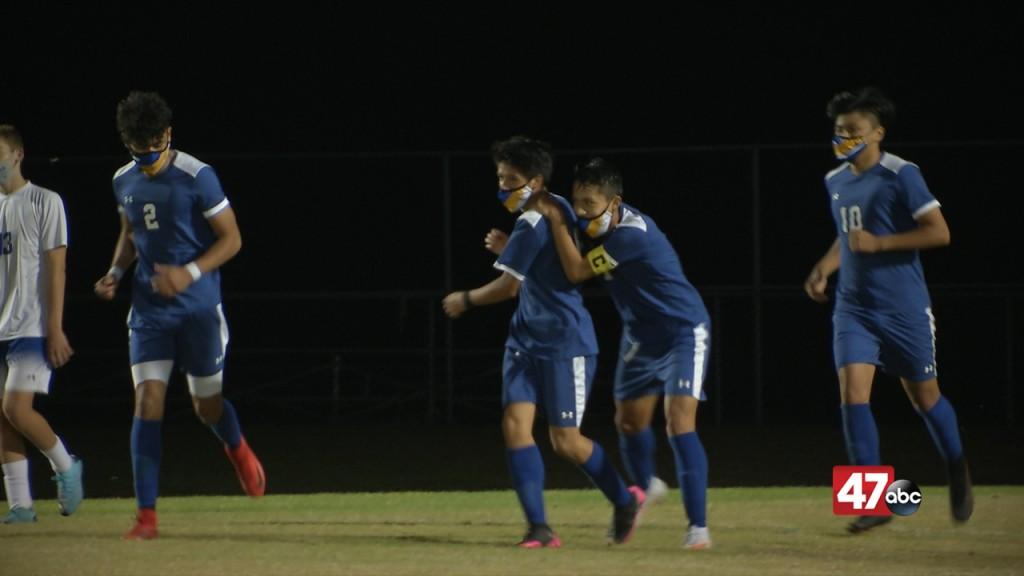 Sc Boys Soccer Vs. Dover 11 05 20