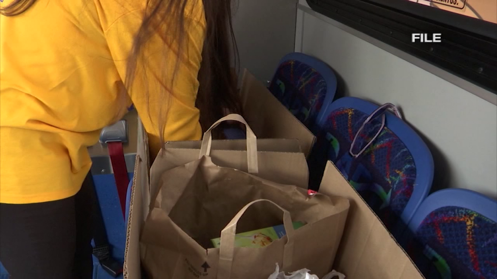 Dart Stuff The Bus Food Drive