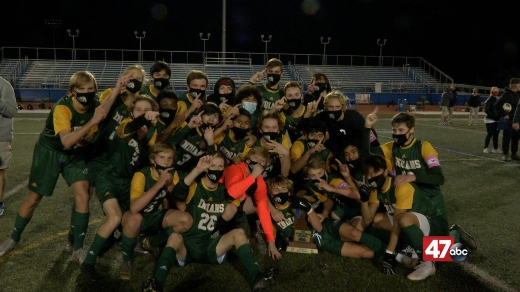 Indian River Boys Soccer Celebrates Their Third Title In Program History
