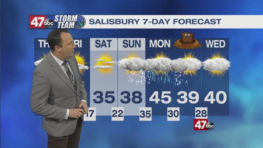 Evening Forecast Video 01.27.21
