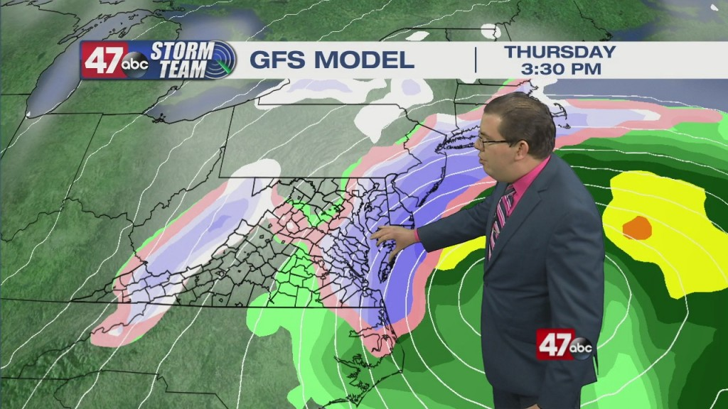Evening Forecast Video 1.23.21