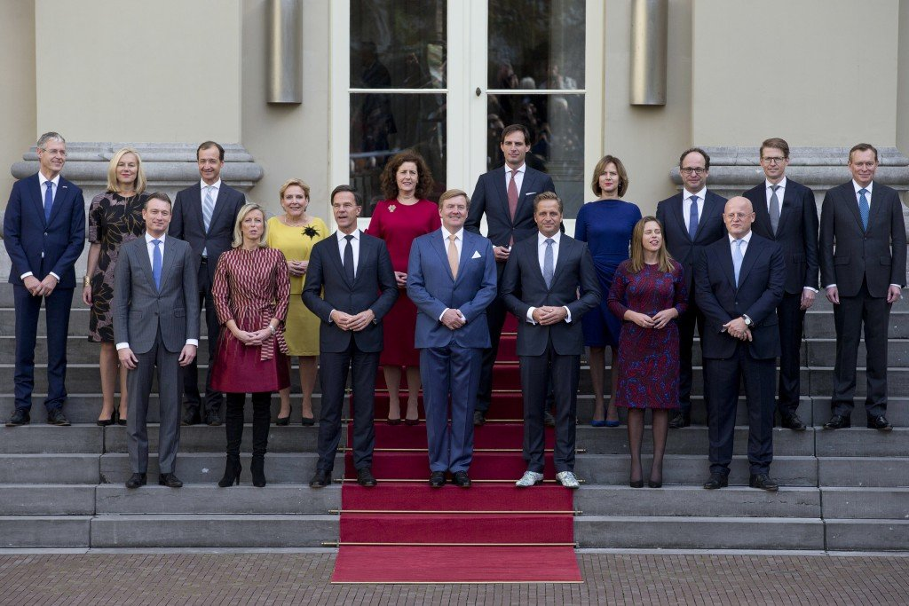 Mark Rutte, King Willem Alexander