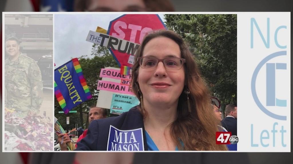 Mia Mason Announces Agaisnt Harris