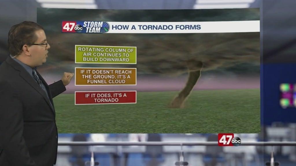 Weather Tidbits: Tornado Formation