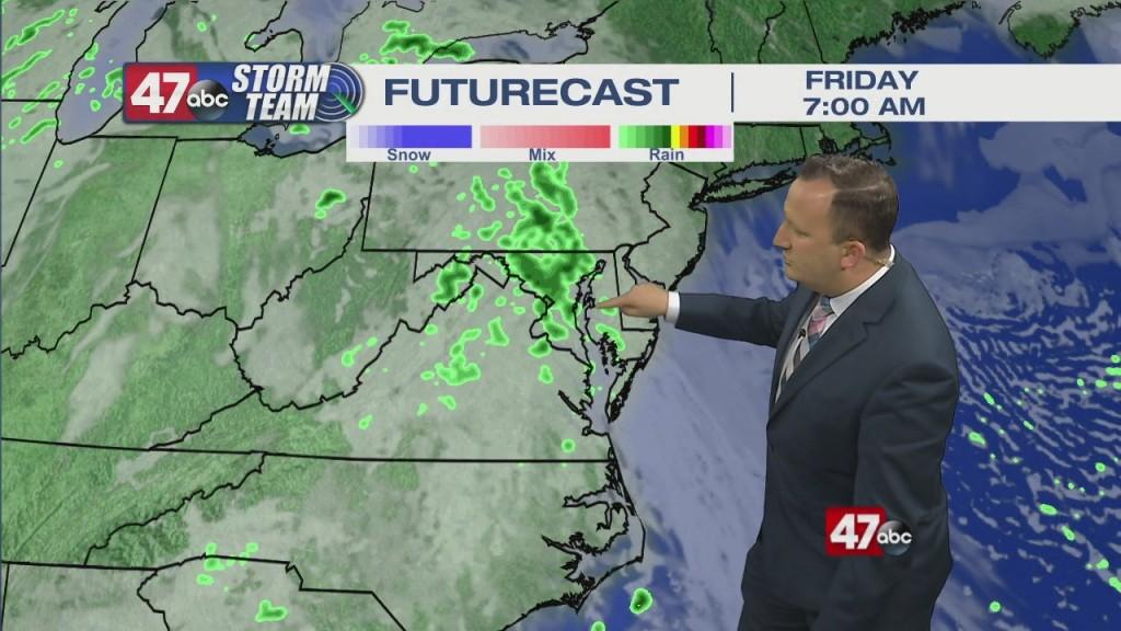 Evening Forecast Video 04.08.21
