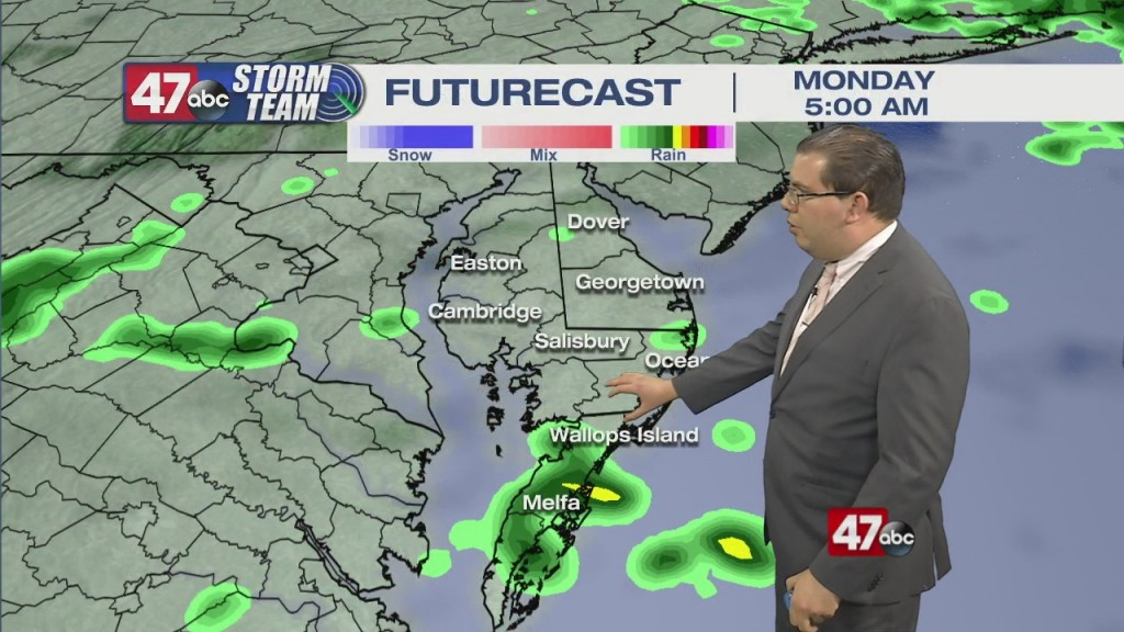 Overnight Forecast Video 5.9.21