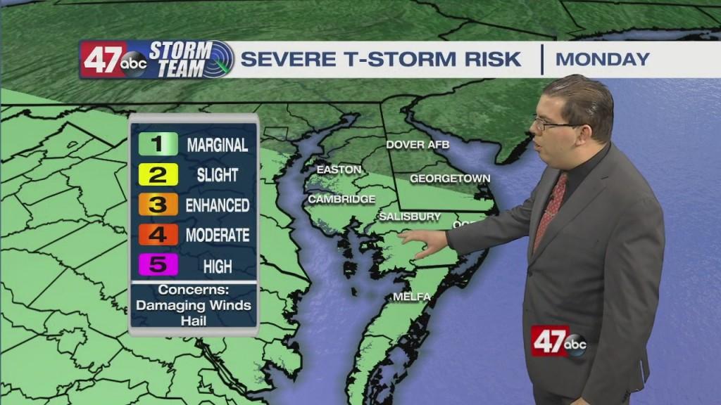 Evening Forecast Video 5.2.21