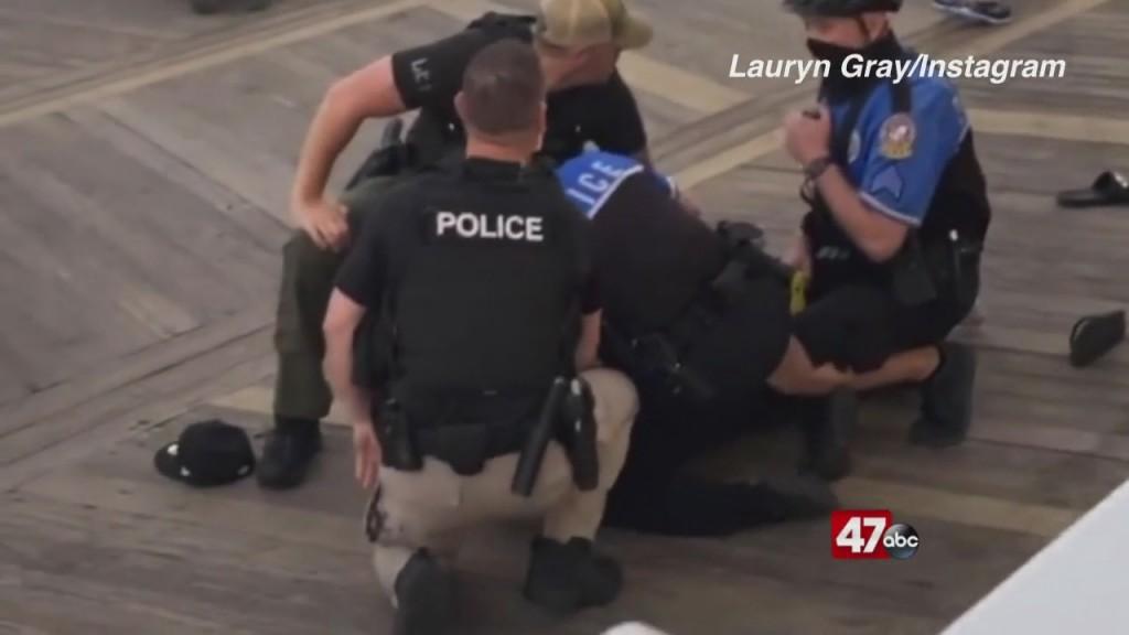 Arrest Incident Goes Viral