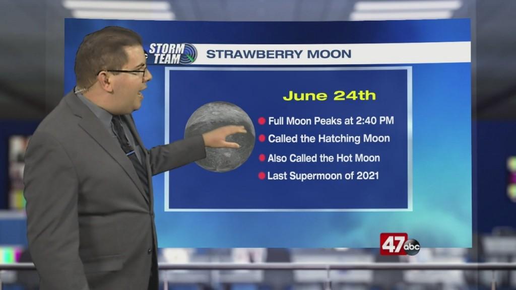 Weather Tidbits: Strawberry Moon