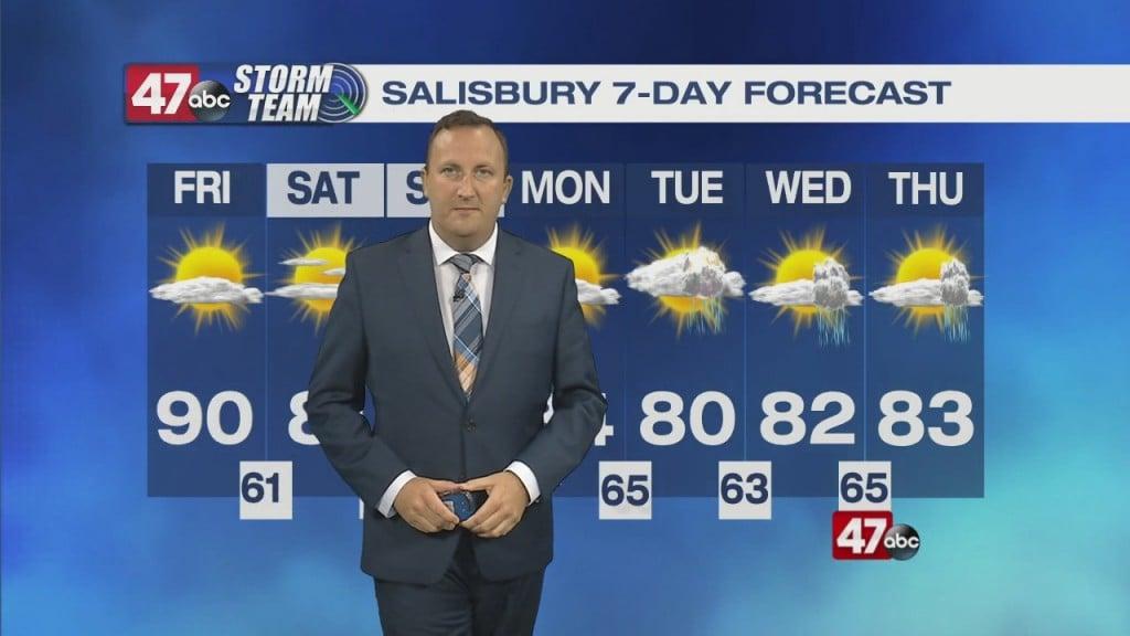 Evening Forecast Video 07.29.21