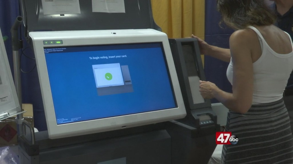 New Voting Booth